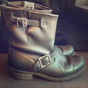 Vintage Frye Engineer 8R boot